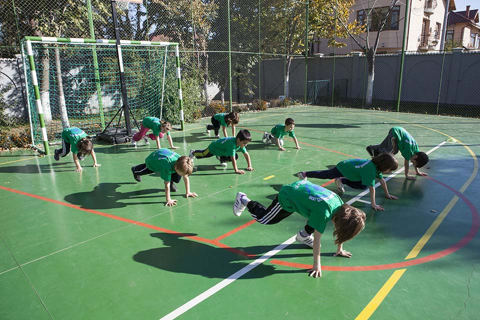 Activitati sportive scoala particulara arc