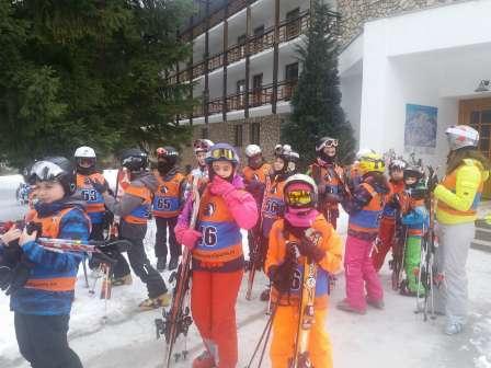 Tabara de schi in Poiana Brasov